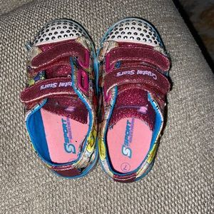 Toddler sketchers with lights